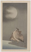 view Quail and full moon digital asset number 1