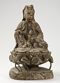 view Bodhisattva Avalokiteshvara as the Water Moon Guanyin with child digital asset number 1