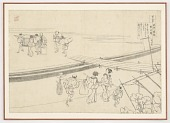 view Preparatory drawing from the series One Hundred Poems Explained by the Nurse (Hyakunin isshu uba ga etoki) digital asset number 1