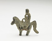 view Ornament in the form of possibly a monkey riding a horse digital asset number 1