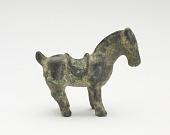 view Saddled horse digital asset number 1