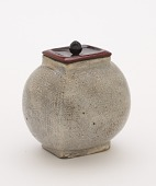 view Tea caddy in the shape of a rice bale digital asset number 1
