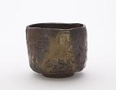 view Bizen ware tea bowl digital asset number 1