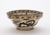 view Serving bowl, Kyoto-related ware digital asset number 1