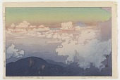 view Above the Clouds, from the series Southern Japan Alps digital asset number 1