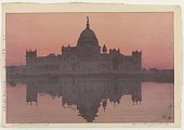 view Victoria Memorial, from the series India and Southeast Asia digital asset number 1