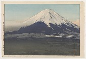 view Yoshida Village, from the series Ten Views of Fuji digital asset number 1