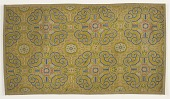 view Panel with floral and Lingzhi fungus (<i>ruyi</i>) patterns digital asset number 1