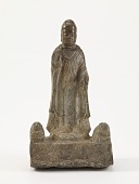 view Standing Buddha (<i>Shakyamuni</i>) with lions digital asset number 1