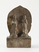 view Two standing bodhisattvas digital asset number 1