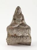 view Seated Buddha (<i>Shakyamuni</i>), fragment digital asset number 1