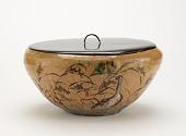 view Tea ceremony water jar, unknown Raku ware workshop digital asset number 1