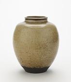 view Shigaraki ware tea-leaf storage jar digital asset number 1