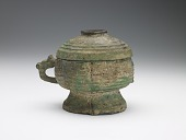 view Ritual vessel (<i>kuei</i>) with cover digital asset number 1