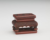 view Netsuke in the form of a stand digital asset number 1