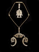 view Pendants, beads, and gold chain digital asset number 1