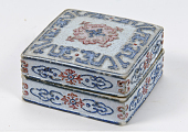 view Seal-paste box imitating champleve digital asset number 1