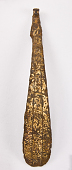 view Garment hook (daigou) in the form of a Chinese lute with interlacing dragons digital asset number 1