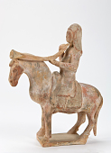 view Figure of a musician on horseback digital asset number 1