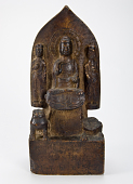 view Buddhist Triad digital asset number 1