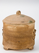 view Tripod vessel with lid digital asset number 1