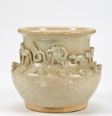 view Jar with figures of twelve cyclical animals digital asset number 1