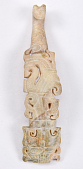 view Garment Hook with monsters in the style of Han dynasty digital asset number 1