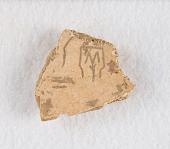 "view Inscribed bone fragment (""oracle bone"") digital asset number 1"