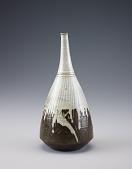 view Agano or Takatori ware bottle digital asset number 1