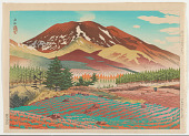 view Spring at the Base of Mt. Asama digital asset number 1
