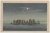 view Stonehenge by Full Moon digital asset number 1