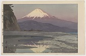 view Okitsu, from the series Ten Views of Fuji digital asset number 1
