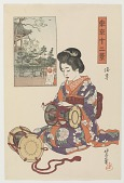 view Asakusa, from the series Twelve Views of Tokyo digital asset number 1