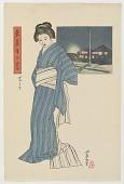 view Shiba-ura, from the series Twelve Views of Tokyo digital asset number 1