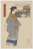 view Nihonbashi, from the series Twelve Views of Tokyo digital asset number 1
