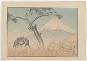 view Mt. Fuji At Yoshiwara digital asset number 1