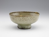 view Serving bowl in style of Chinese celadon, probably Shodai ware digital asset number 1