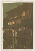 view Night in Kyoto, from the series Kansai District digital asset number 1