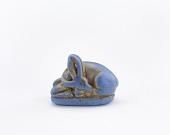 view Amulet depicting a reclining gazelle digital asset number 1