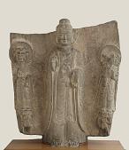 view The Buddha Gautama Sakyamni (Shih-chia) and attendant divinities digital asset number 1