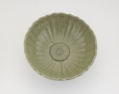 view Bowl with plaque covering circular hole in base digital asset number 1