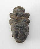 view Small head of Bodhisattva (Guanyin?) digital asset number 1
