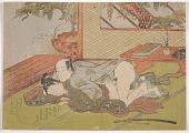 view Shunga (homosexual scene) digital asset number 1