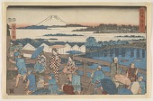 view Nihonbashi, from the series, Famous Places of Edo digital asset number 1