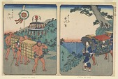 view Shirasuka and Futagawa, from the series, Fifty-three Stations along the Tokaido digital asset number 1