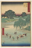 view Fujieda, from the series, Gojusan tsugi meisho zue digital asset number 1