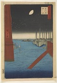 view Eitaibashi, from the series, One Hundred Famous Views of Edo digital asset number 1