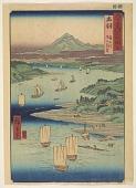 view Dewa, from the series, Rokuju yoshu meisho zue digital asset number 1