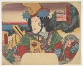 view Fan print: Fuga joshi den Shizuka gozen digital asset number 1
