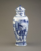 view Baluster vase, from a five-piece garniture (F1980.190-.194) digital asset number 1